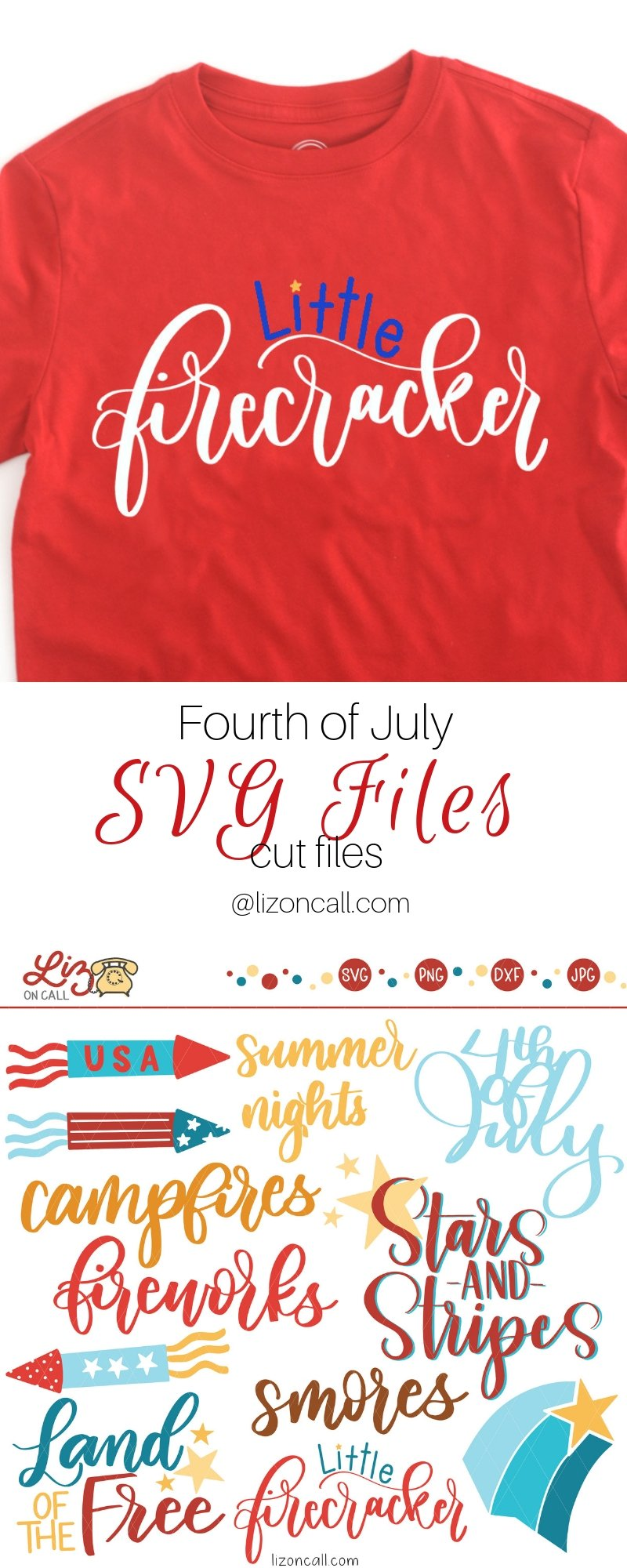 pinnable image with fourth of july cut file designs