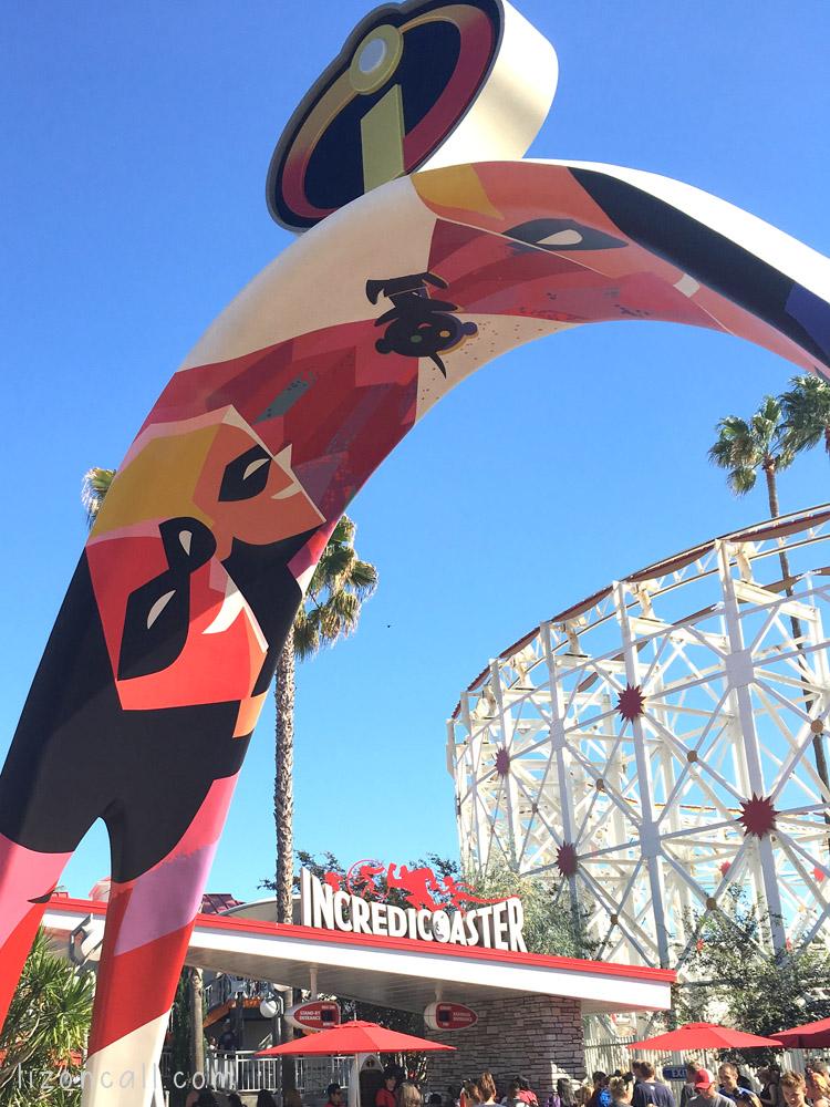 Attractions At Disney California Adventure