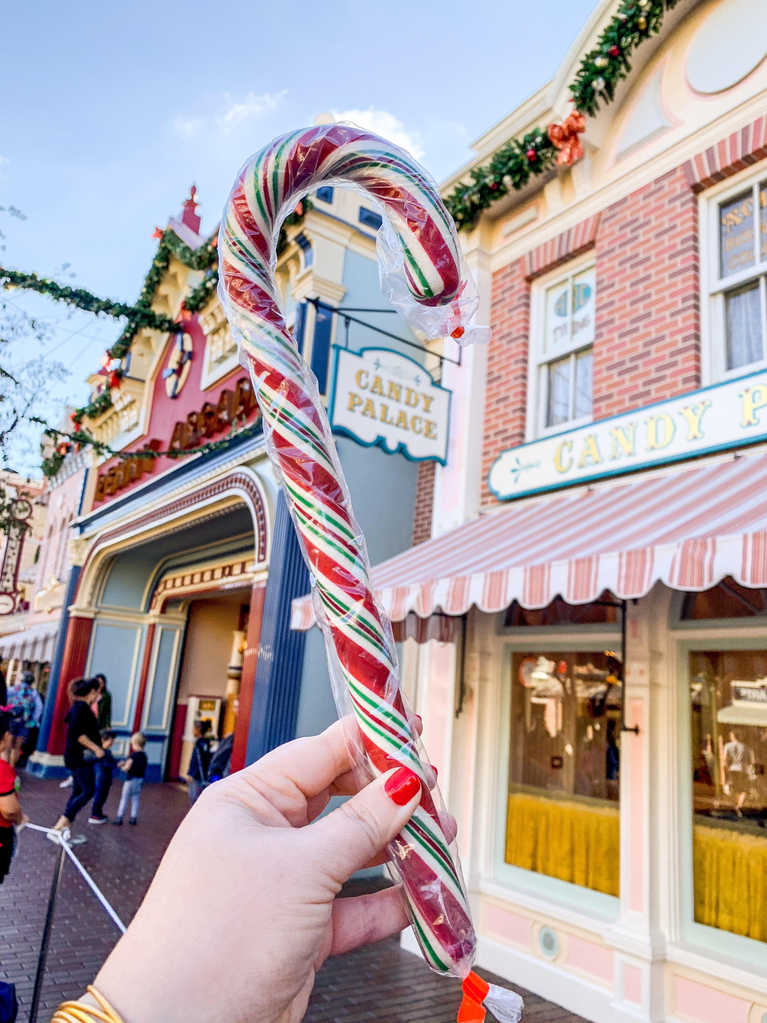 Disneyland Hand made Candy Cane