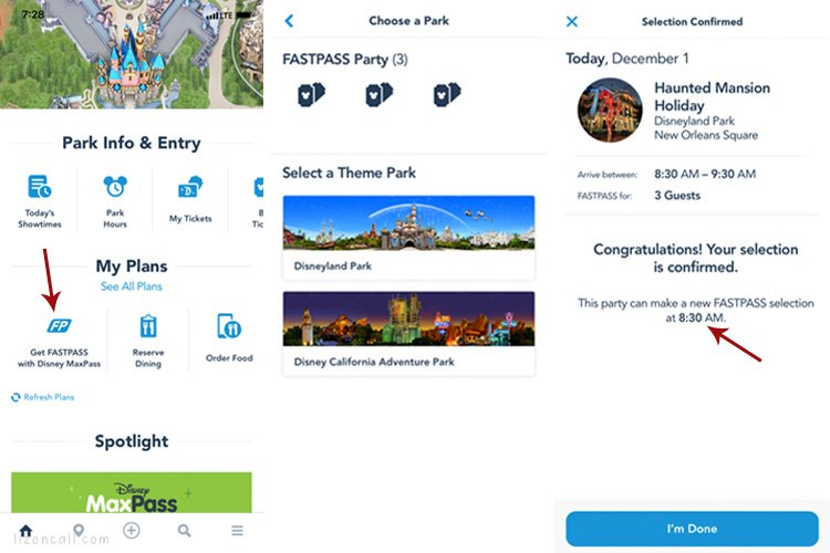 How to use Fast Pass using Max Pass