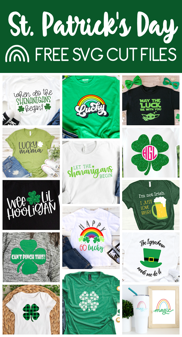 collage of st. patrick's day projects