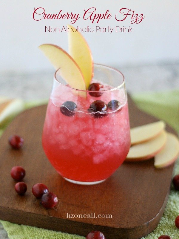 Cranberry Apple Fizz