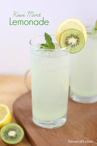 Kiwi Mint Lemonade