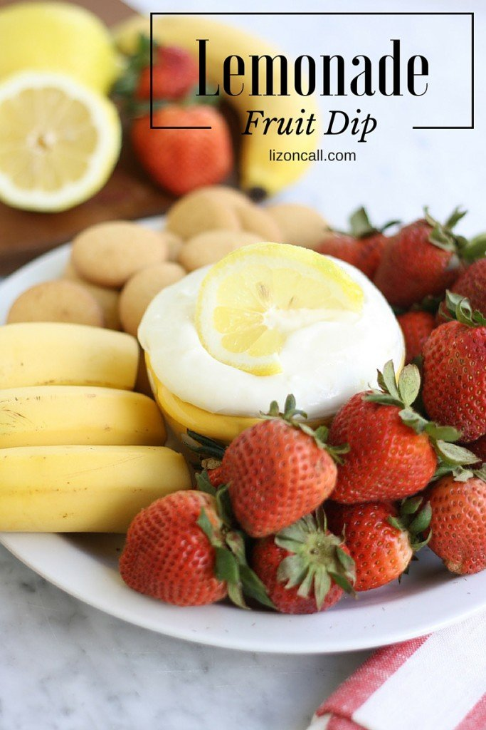 Lemonade Fruit Dip Recipe