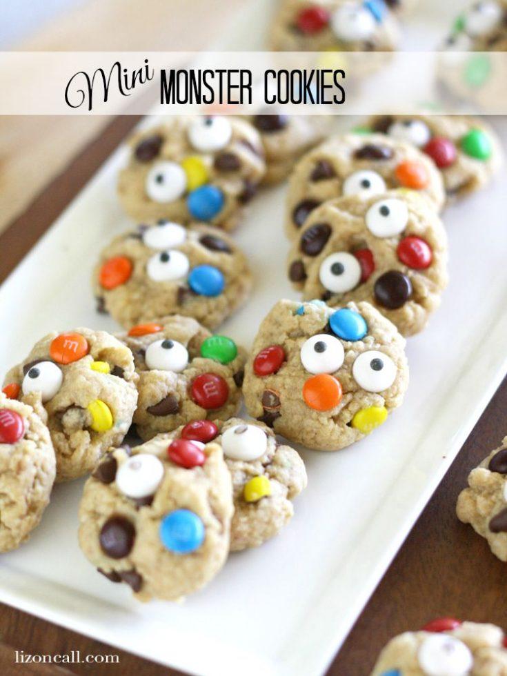 Mini Monster Cookies Recipe