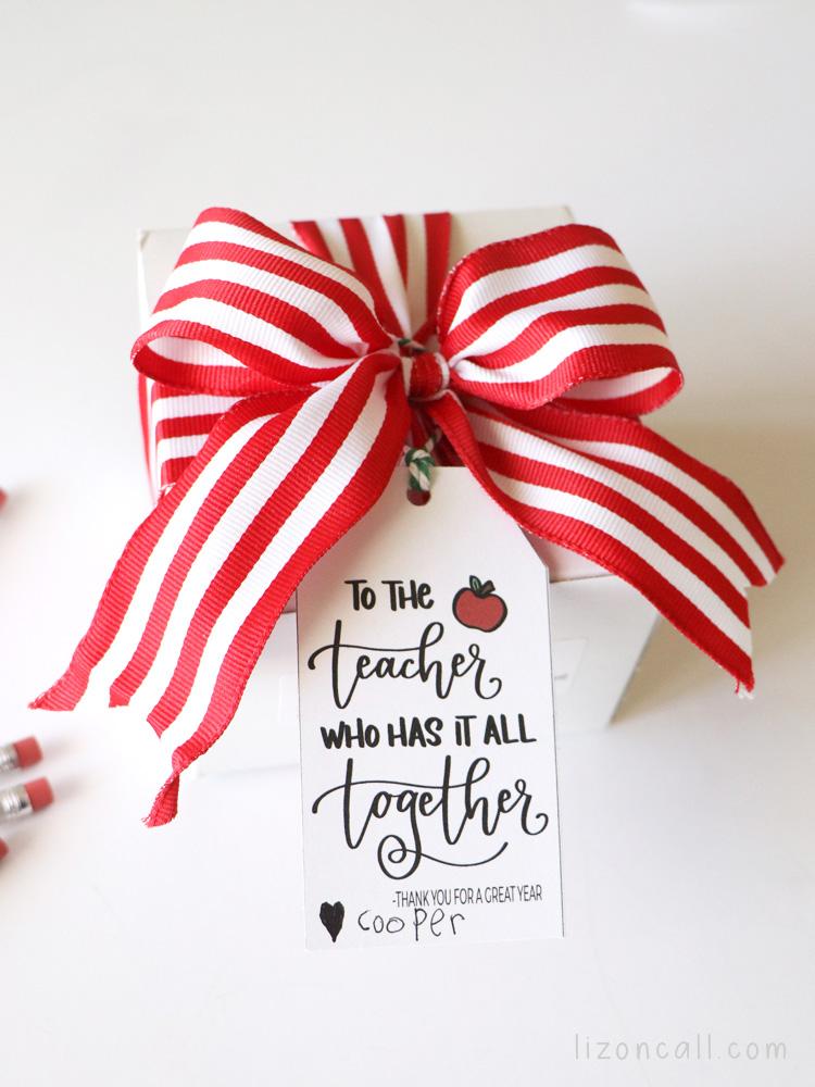 Teacher Paper Clip Gift 5