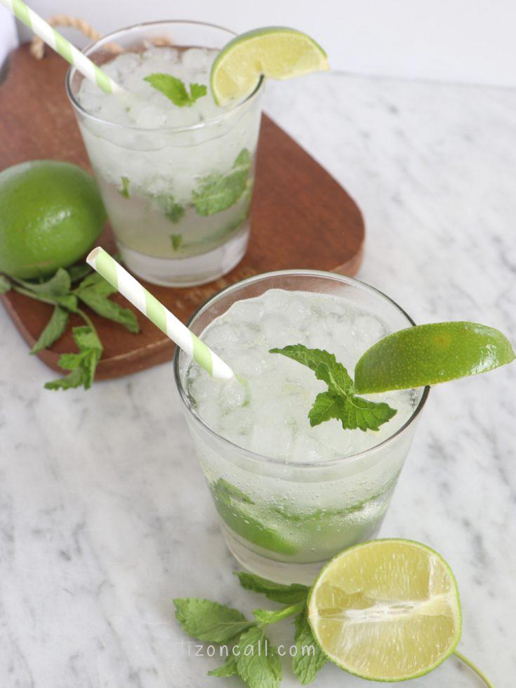 Mojito Mocktail 2