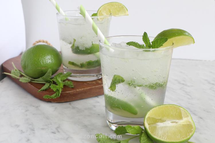 Mojito Mocktail 3