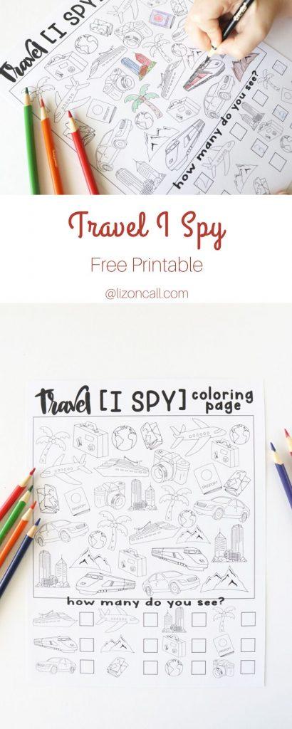 Travel I Spy Pin