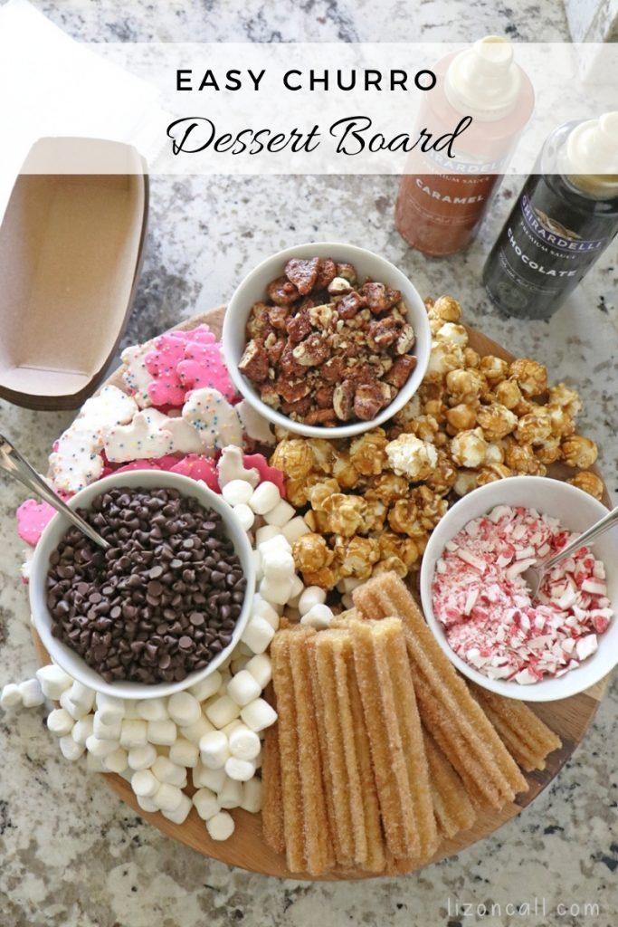 Churro Dessert Board 1