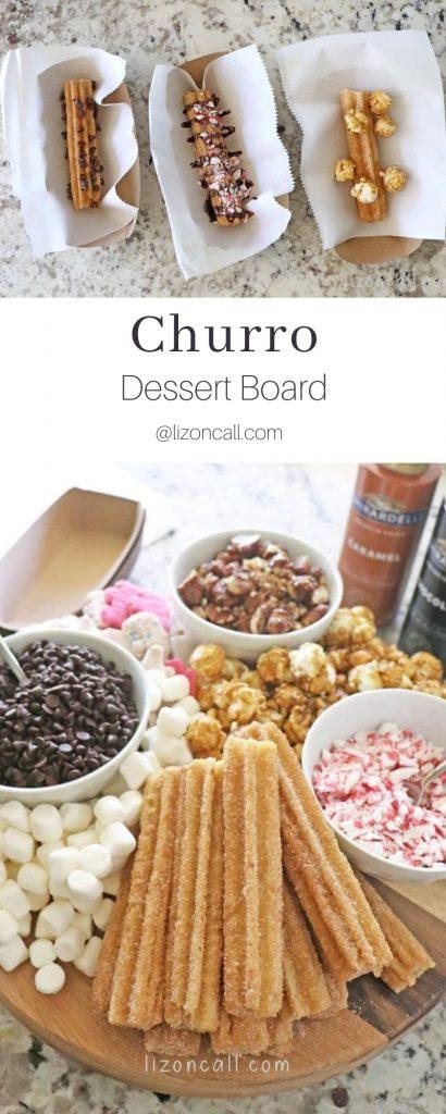 Churro Dessert Board Pin