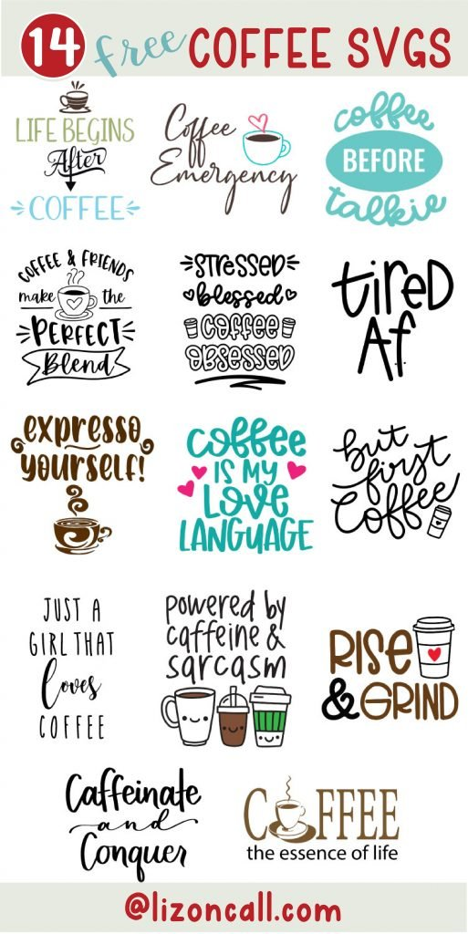 Coffee Collage Png Space