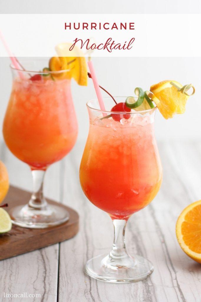 Hurricane Mocktail 1