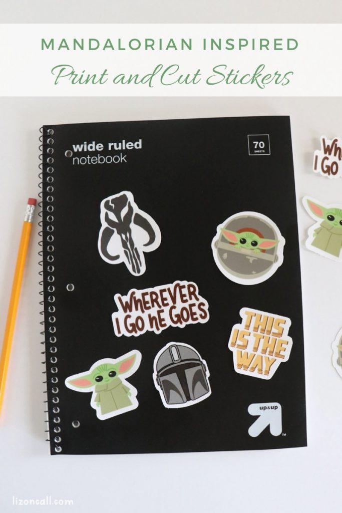 Mandalorian Stickers 1