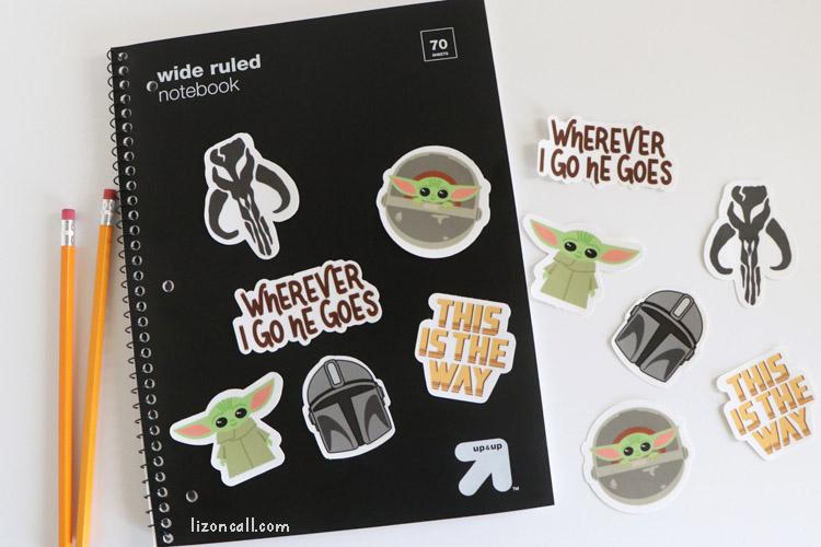 Mandalorian Stickers 3