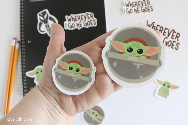 Mandalorian Stickers 4