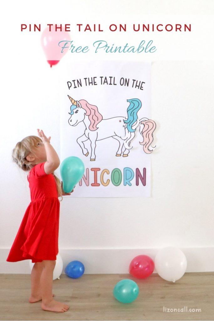 Pin Tail On Unicorn 1