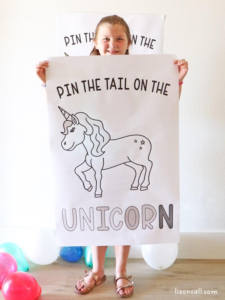 Pin Tail On Unicorn 2