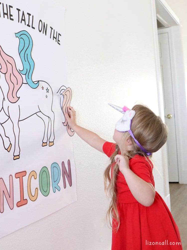 Pin Tail On Unicorn 4