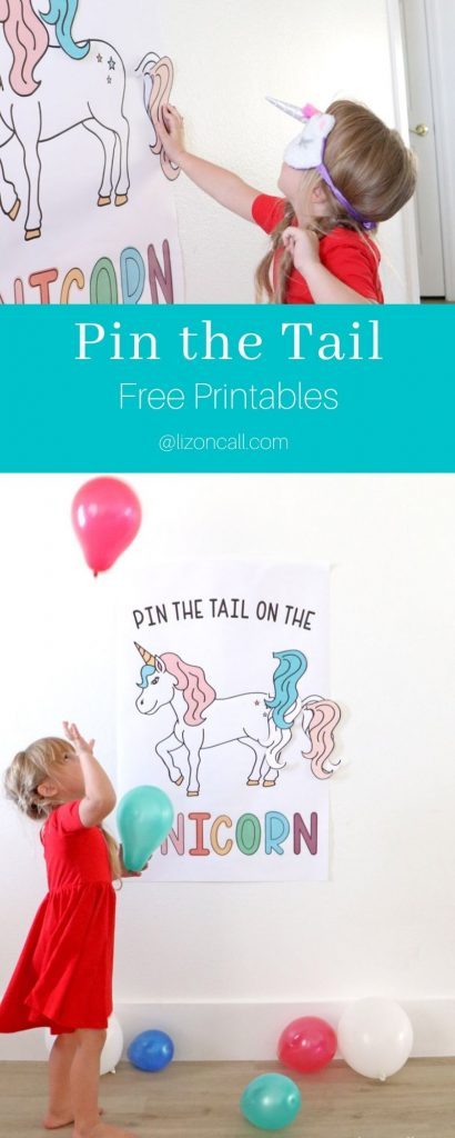 Pin Tail On Unicorn Pin