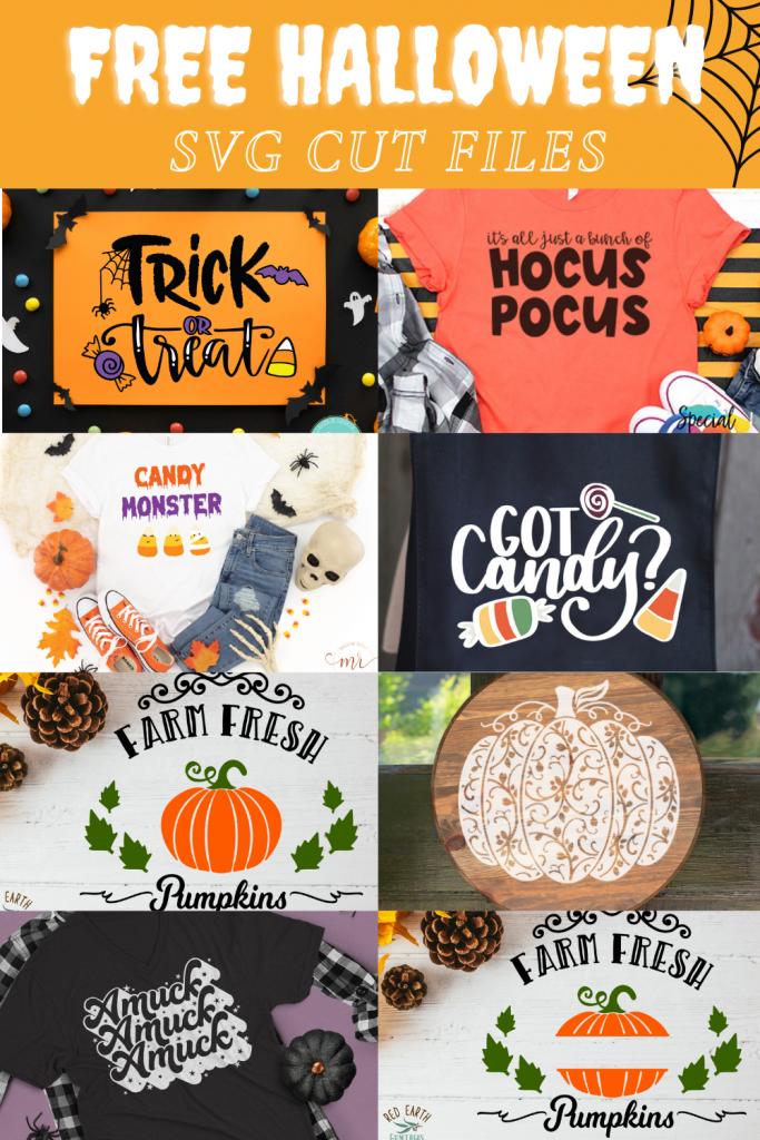 8 Halloween cut files