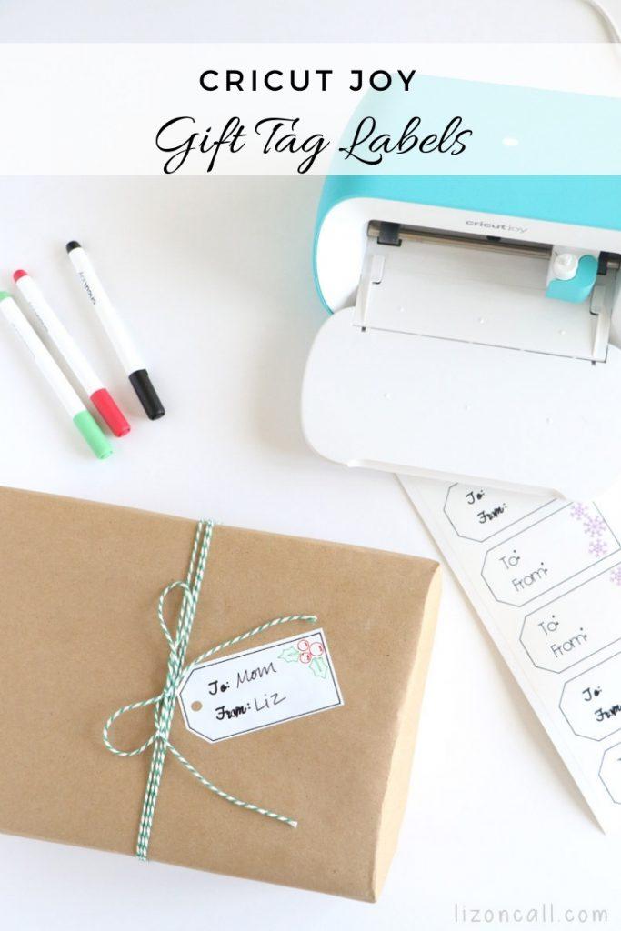 Cricut Joy Gift Tag Labels 1