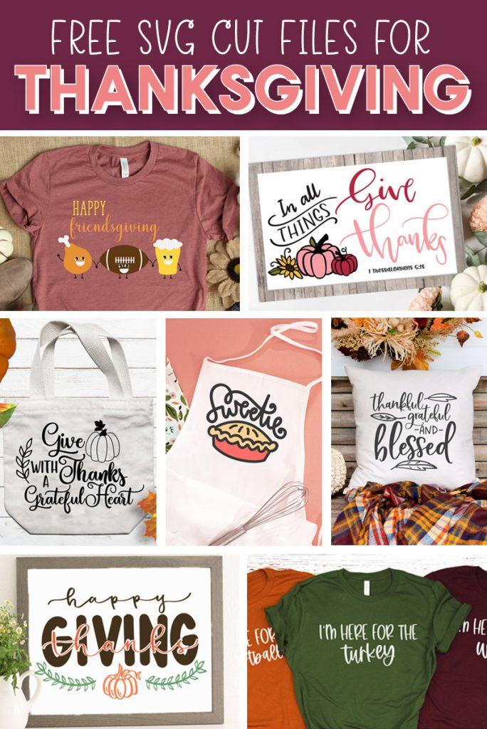Free Thanksgiving Cut Files