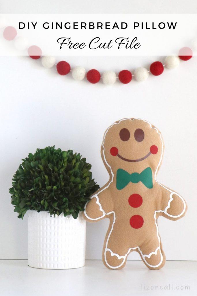 Gingerbread Pillow 1
