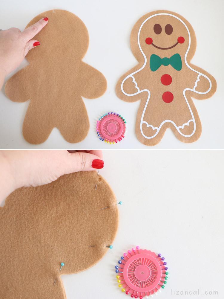 Gingerbread Pillow 7