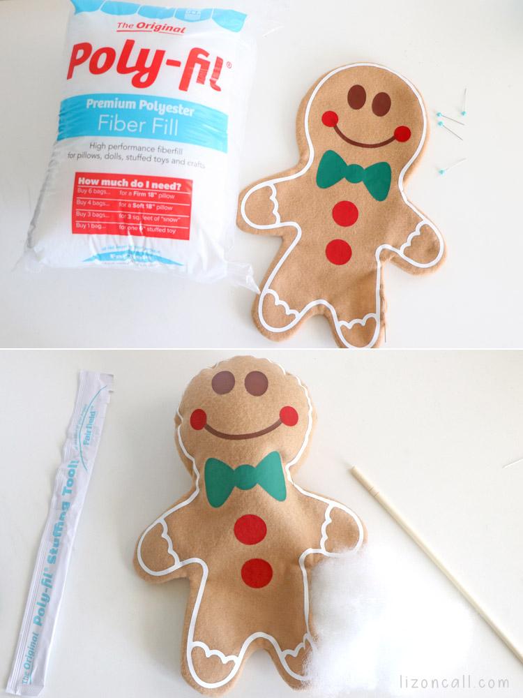 Gingerbread Pillow 8