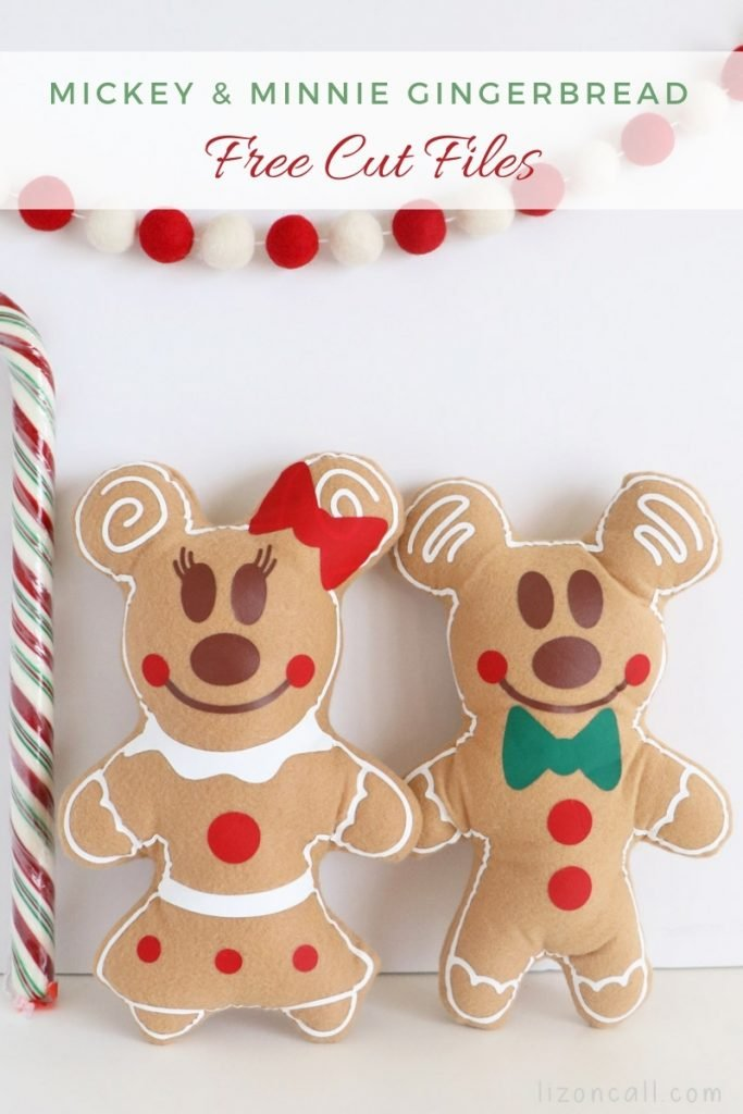 Mickey And Minnie Gingerbread 1