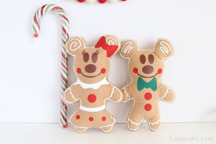 Mickey And Minnie Gingerbread 2