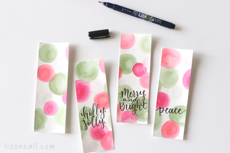 Watercolor Bookmarks 4