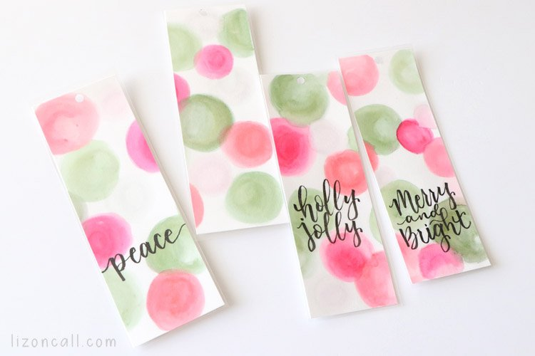 Watercolor Bookmarks 5
