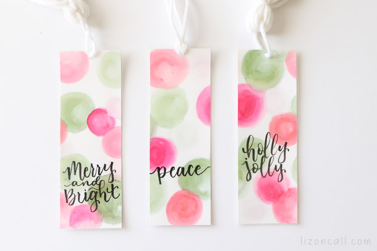 Watercolor Bookmarks 8
