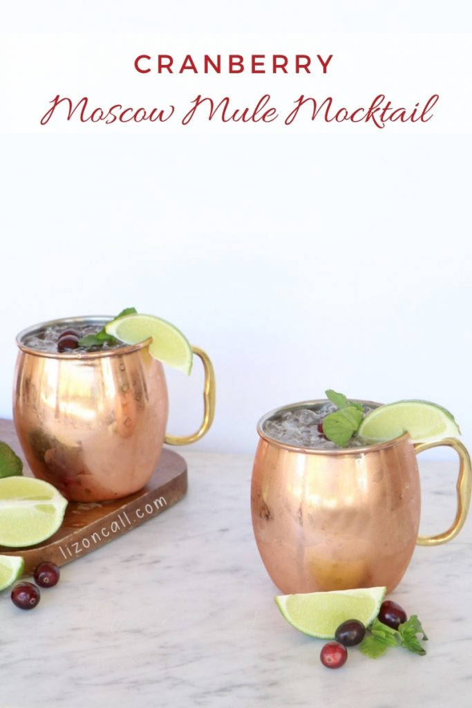 Cranberry Moscow Mule 1