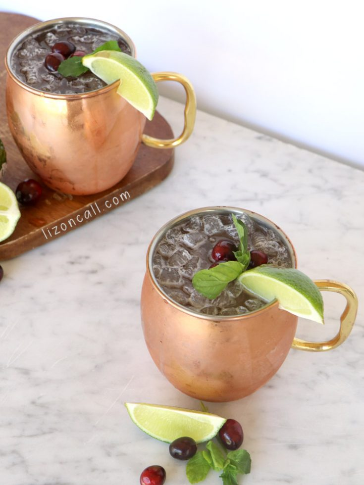 Cranberry Moscow Mule 2