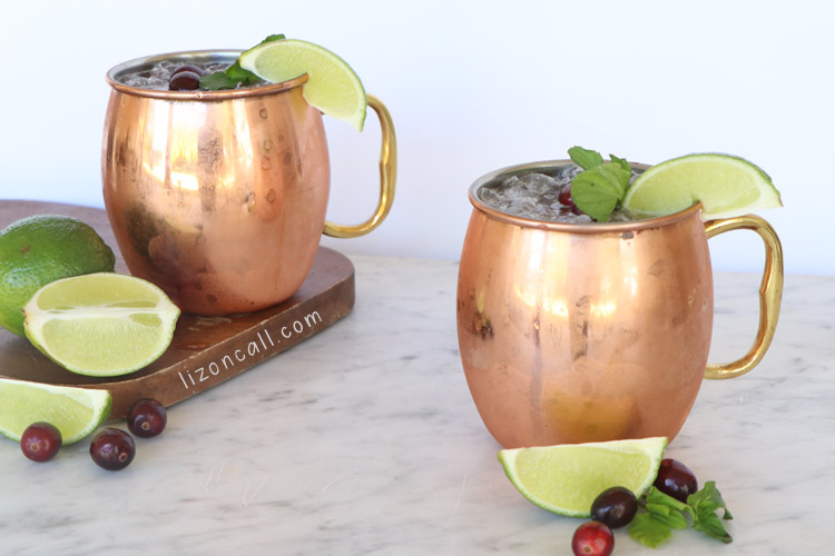 Cranberry Moscow Mule 3