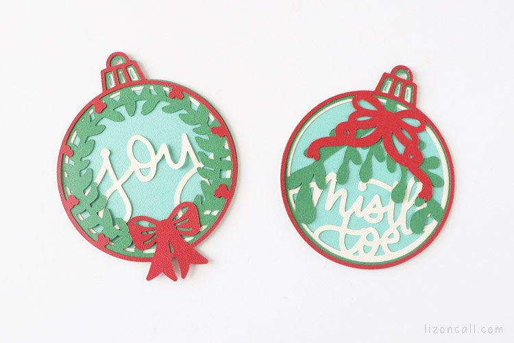 Layered Christmas Ornaments 6