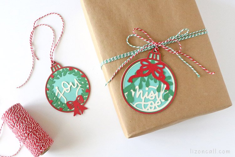 Layered Christmas Ornaments 7