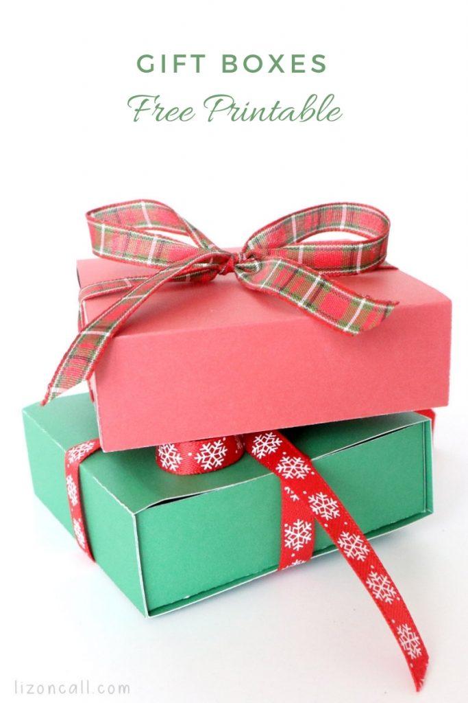 Printable Gift Box 1