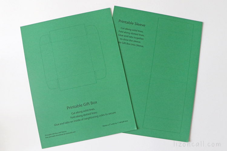 Printable Gift Boxes 2