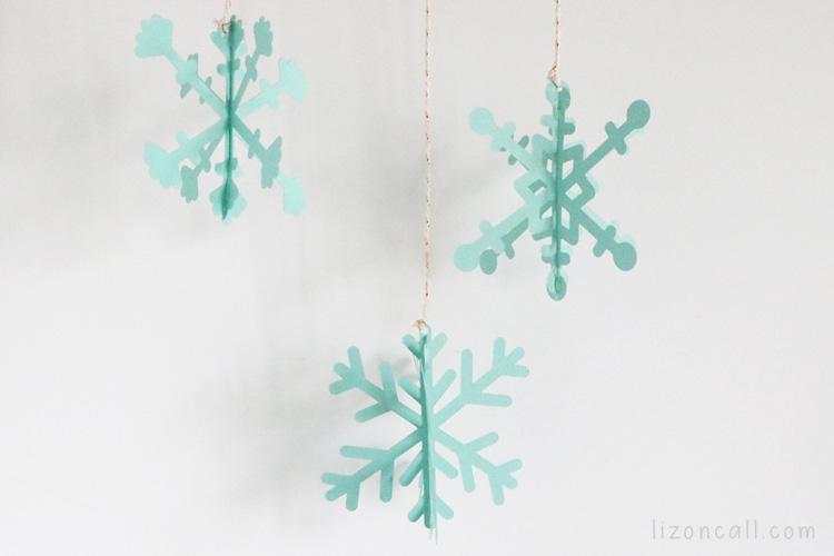 3d Snowflakes 5