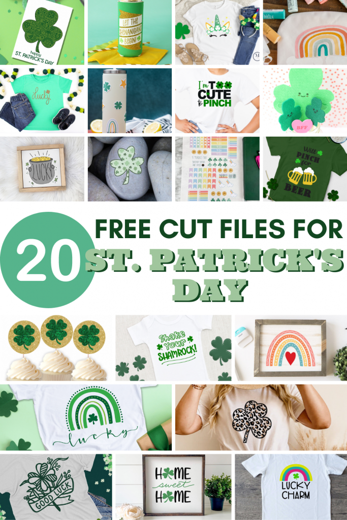 20 Free Cut Files For St Patricks Day