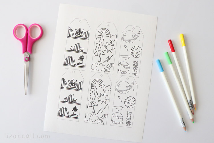 Coloring Bookmarks 2
