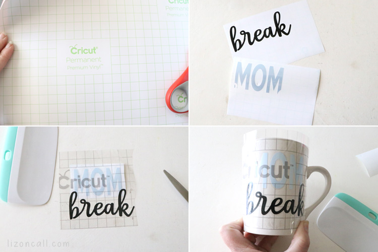 DIY mom break mug