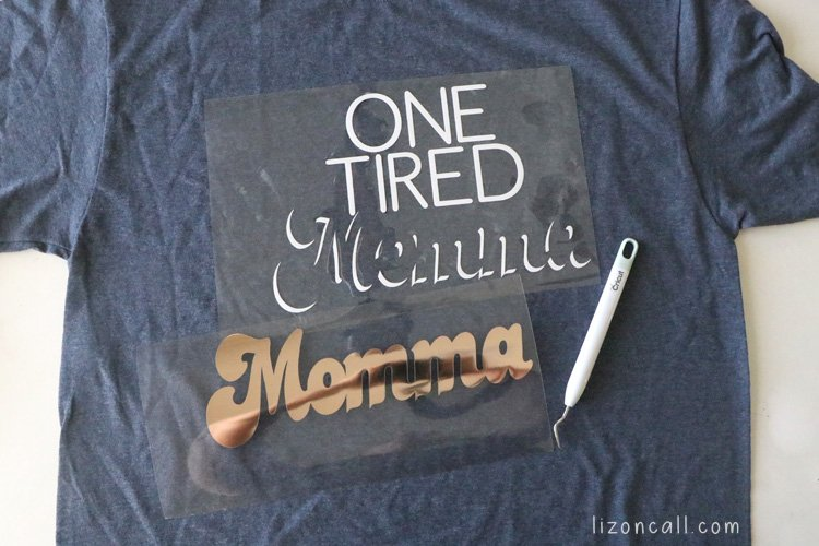 One Tired Momma Shirt
