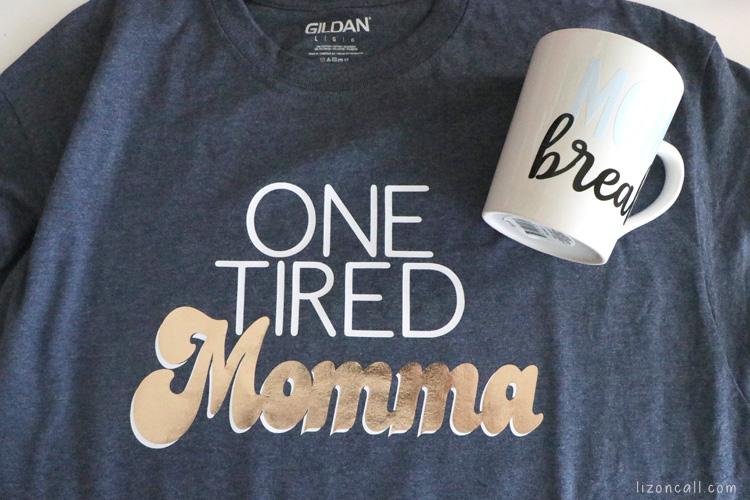 Custom shirt and mug for the Expectant Mom