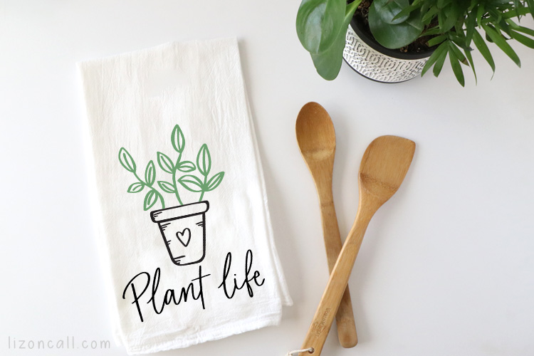 Plant Life Tea Towel 2