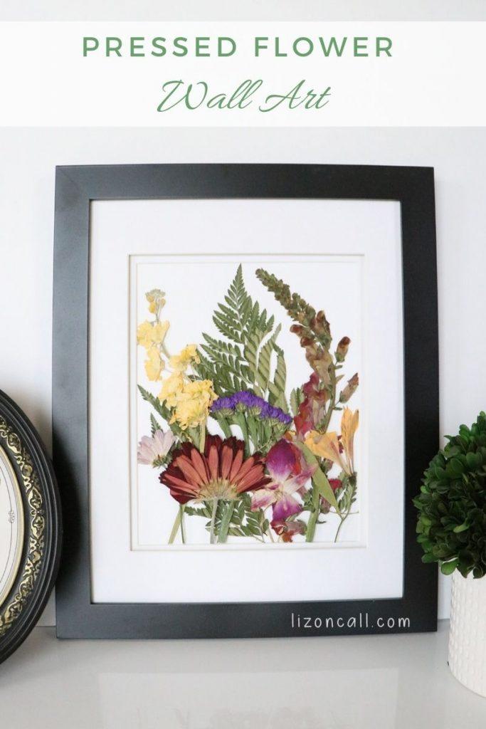 Pressed Flower Wall Art